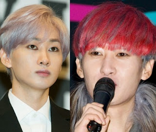 Model Rambut Eunhyuk Super Junior Trend Terbaru 2015 Artis Korea