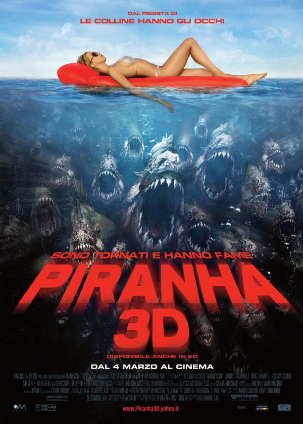 piranha 3D locandina