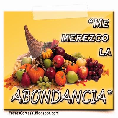 Afirmaciones de Abundancia | Merezco