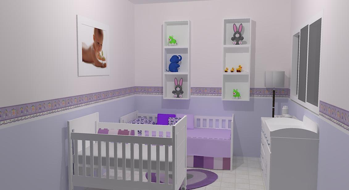 Marcenaria Formilyne Quarto de Bebê ~ Tapete Para Quarto De Bebe Lilas