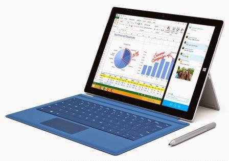 Microsoft rilis Surface Pro 3, tablet yang akan mengantikan laptop Anda