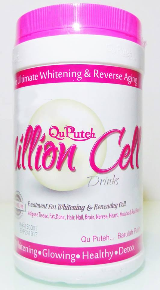 harga qu puteh million cell, kelebihan / khasiat / testimoni million cell qu puteh, qu puteh stem cell, qu puteh million cell price, cara beli dan order qu puteh million cell