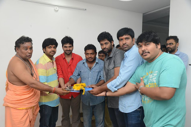 Appatlo Okadundevaadu Movie Launched ,Nara Rohit Appatlo Okadundevaadu Movie Launch,Sri Vishnu Appatlo Okadundevaadu Movie Launch,Telugucinemas.in  ,Ayyare Director Sagar Chandra Appatlo Okadundevaadu Movie Launch details,
