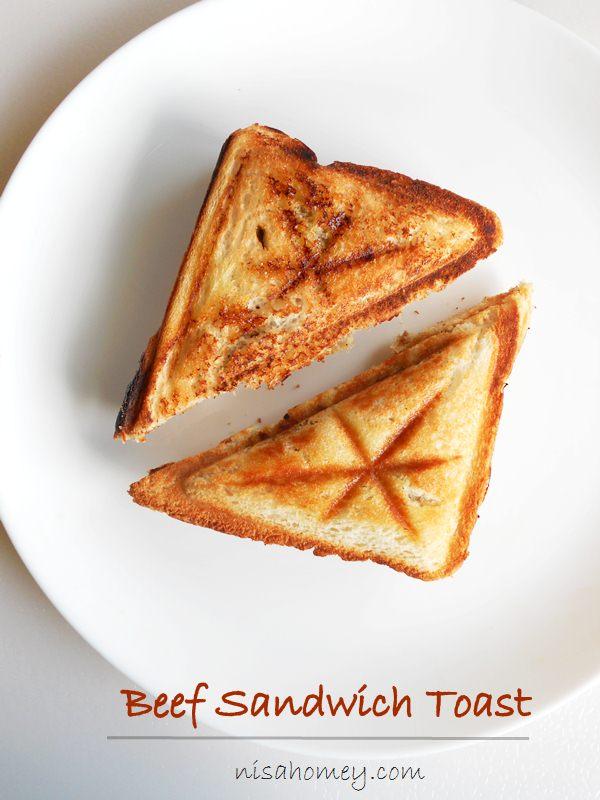 beef sandwich toast