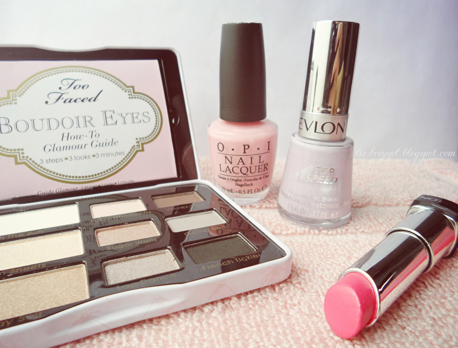 too faced palette review, opi lacquer review