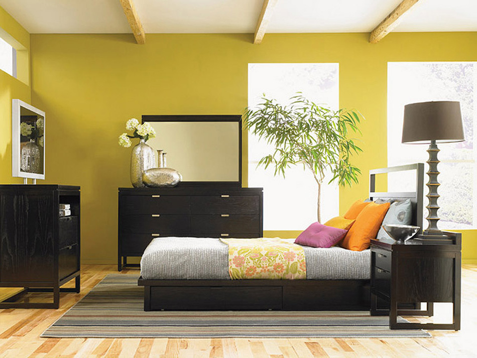 Asian contemporary bedroom furniture from haiku designs for Modern bedroom sets