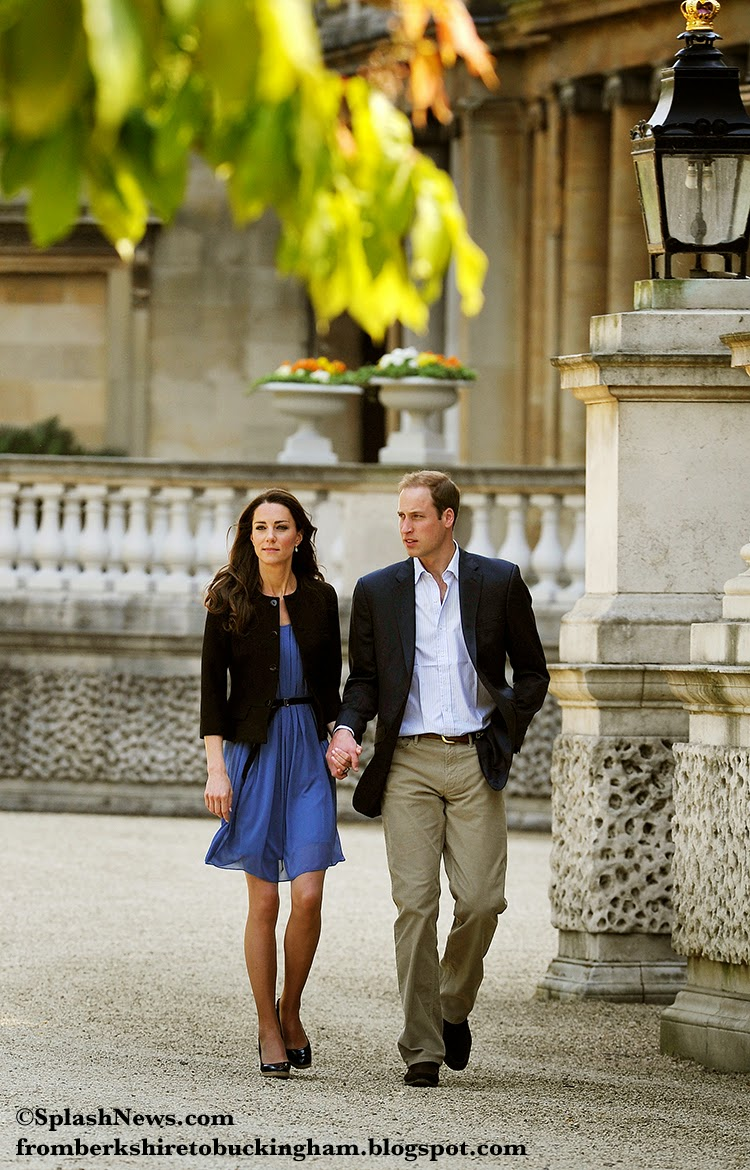 Cambridges Spend A Family Day On The Grounds Of Government