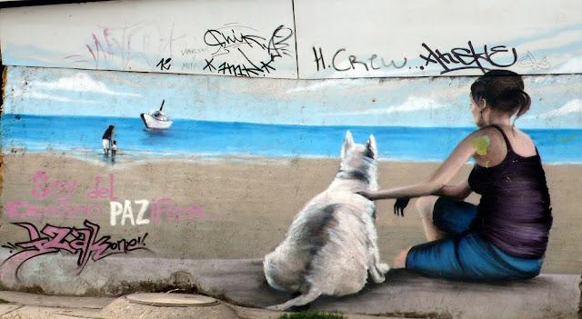 street art santiago de chile los presidentes arte callejero izak