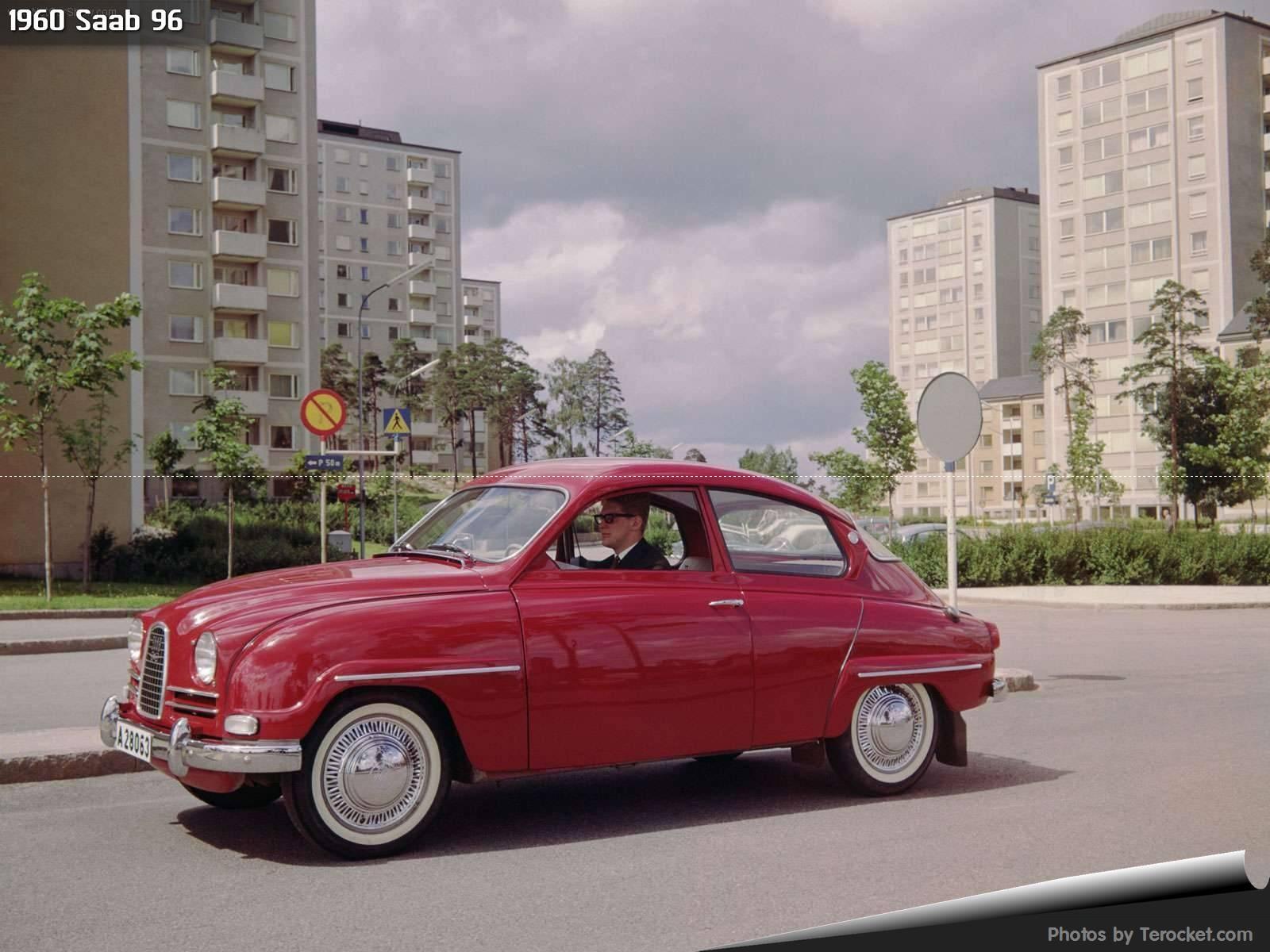 Hình ảnh xe ô tô Saab 96 1960 & nội ngoại thất