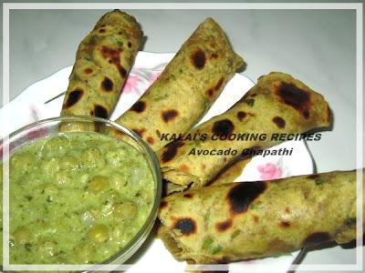 Soft Avocado Chapathi | Butterfruit Chapathi | வெண்ணைய் பழம் சப்பாத்தி | Vennai Pazham Chapathi