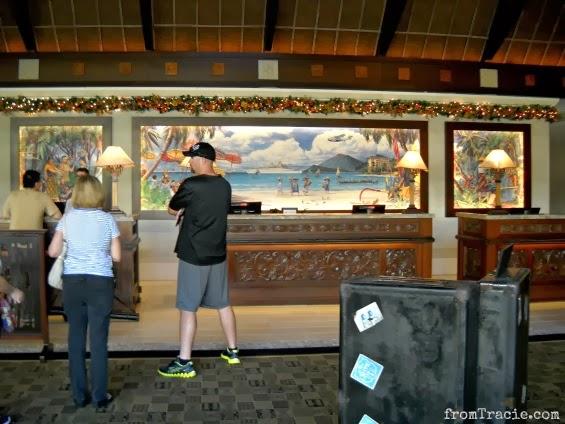 Royal Pacific Lobby Mural