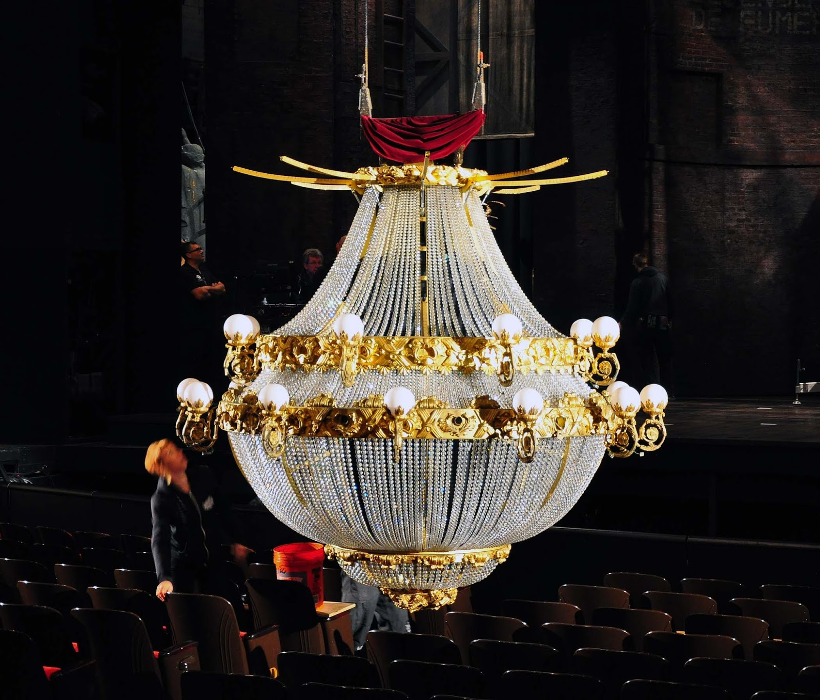 Ideal The Phantom of the Opera at SHN Up Close with the Chandelier
