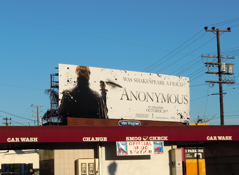 Anonymous movie billboard