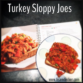 Turkey Slopp Joes, Fixate Cookbook Recipes, 21 Day Fix Recipes, Clean ...