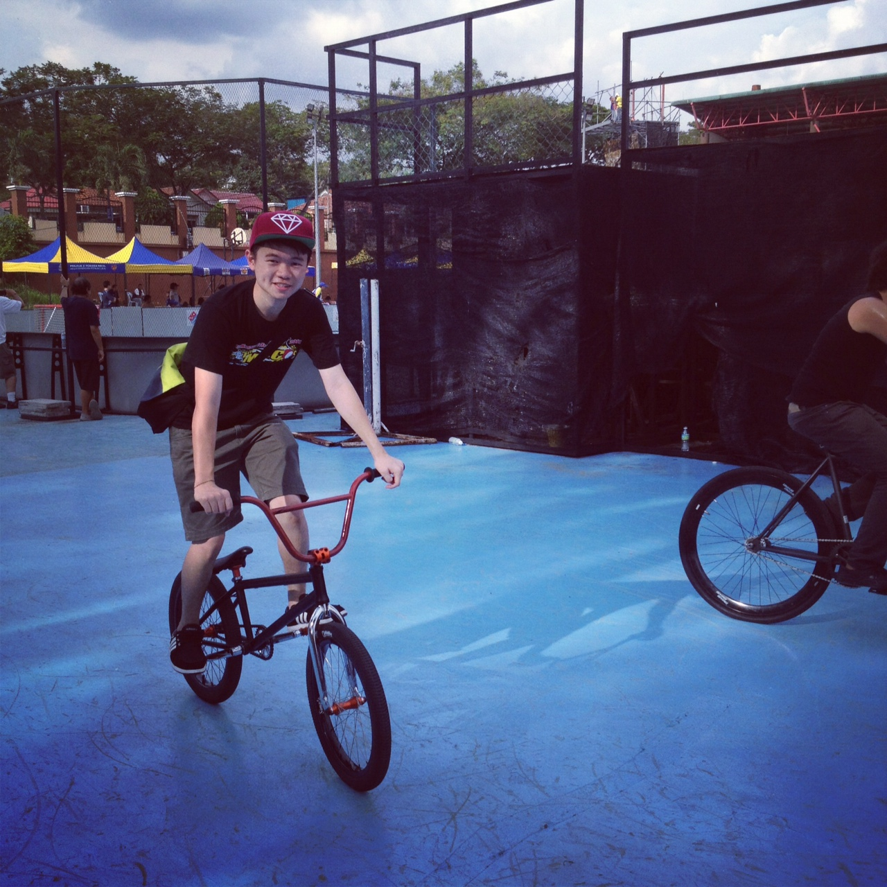 BMX AT ASSUNTA SKATE PARK