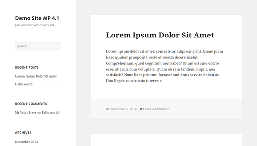 Apa yang Baru di WordPress 4.1.