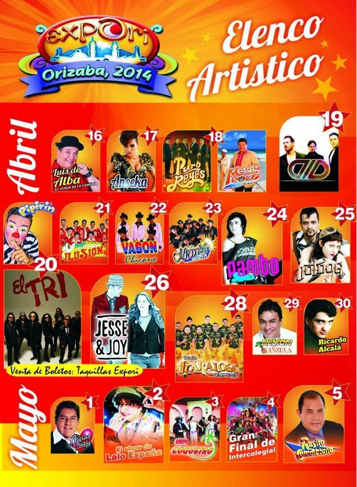 programa teatro del pueblo expori 2014