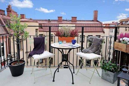 Miss cel nea decoraci n usa tu peque a terraza - Decoracion terrazas pequenas ...