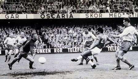 """7. 0' 35"""" (Arne Nyberg) - Hungary V Sweden (1938)"""