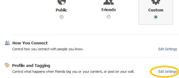 facebookプライバシー設定 プロファイルとタグ:ESETセキュリティブログ