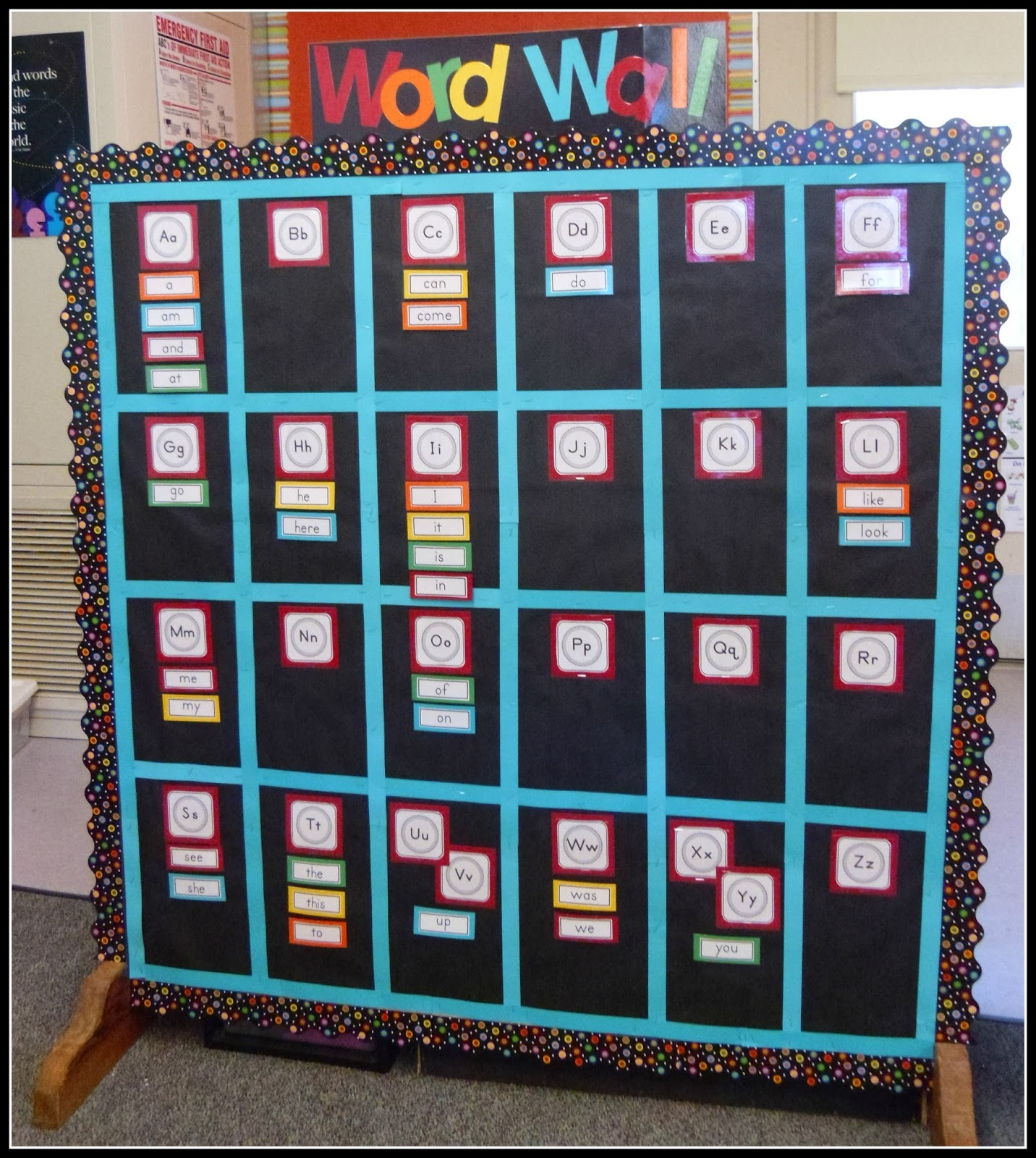 Classroom Word Wall Ideas ~ Mrs byrd s learning tree word wall