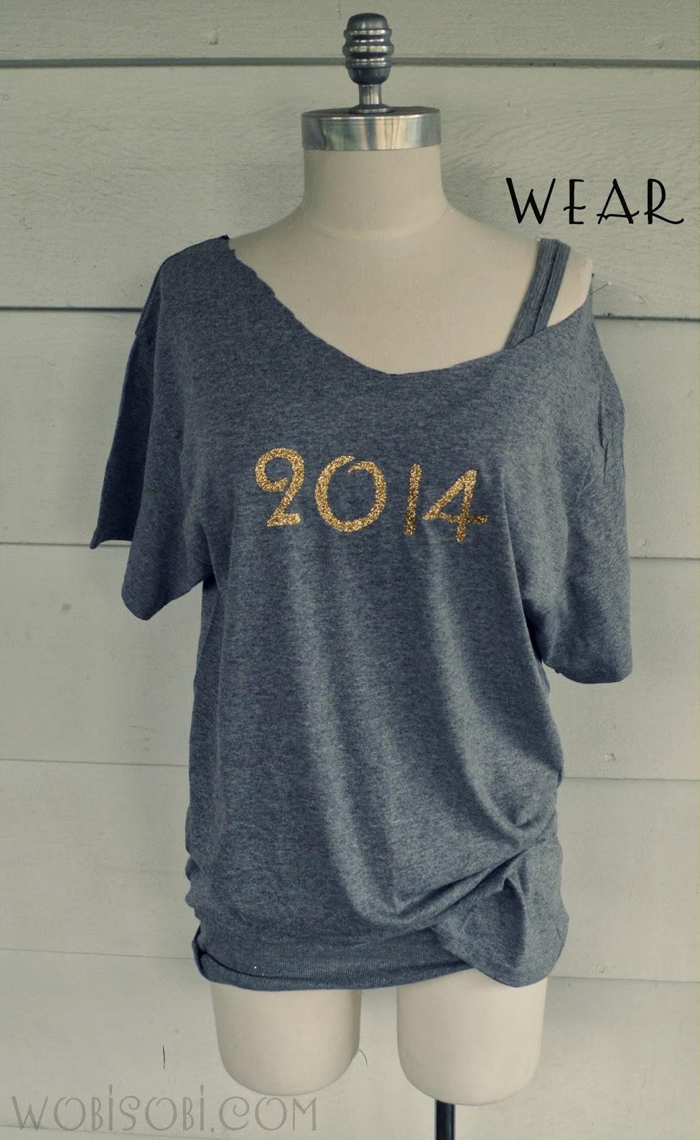 WobiSobi: Glitter 2014 Tee-shirt, DIY | 983 x 1600 jpeg 238kB