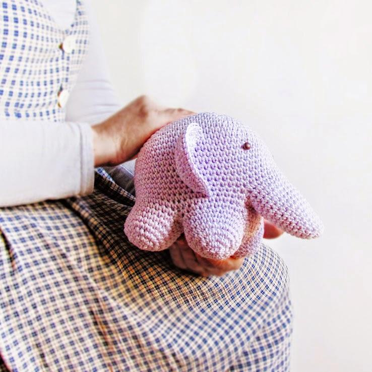 мой сиреневый толстячок слон