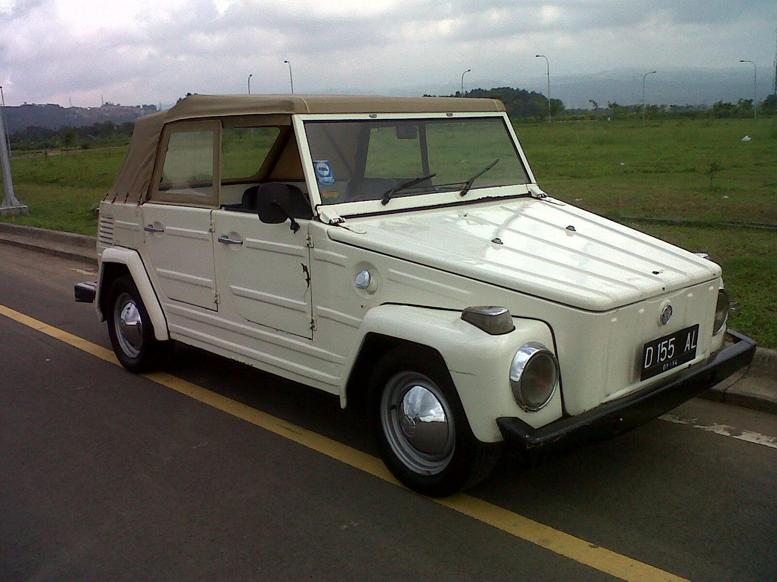 1974 Volkswagen Thing / Safari / Trekker / Type 182: VW Safari