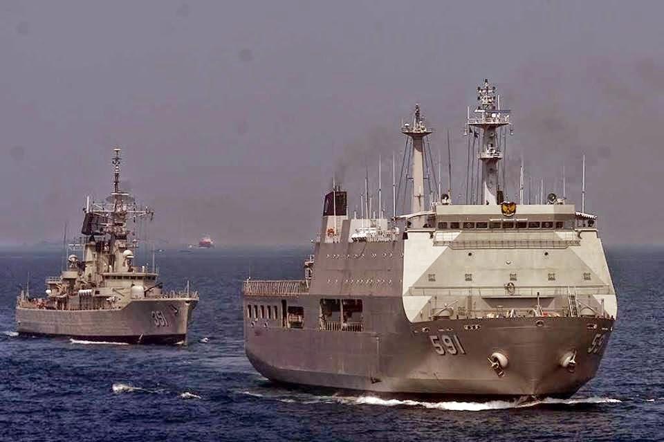 Jelang Konferensi UNAOC Koarmatim Siaga 5 Kapal Perang di Perairan Bali