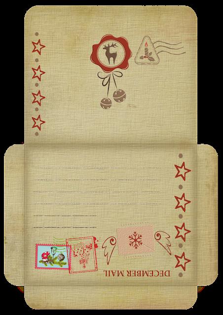 Шаблон конверт.