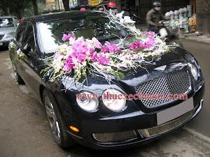 Hoa xe cưới MS020
