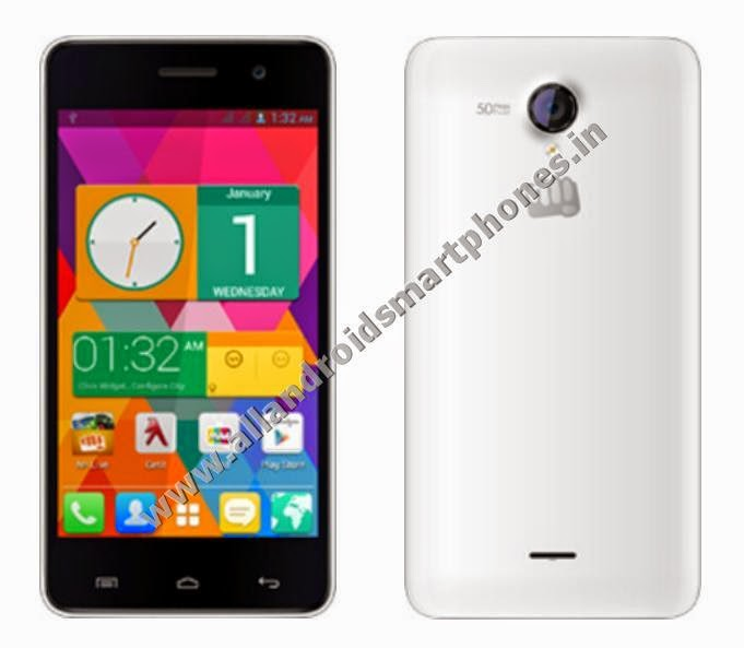 Micromax Unite 2 A106 Dual Sim 3G Android Kitkat 4.4.2 Smartphone Front Back Images Photos Review