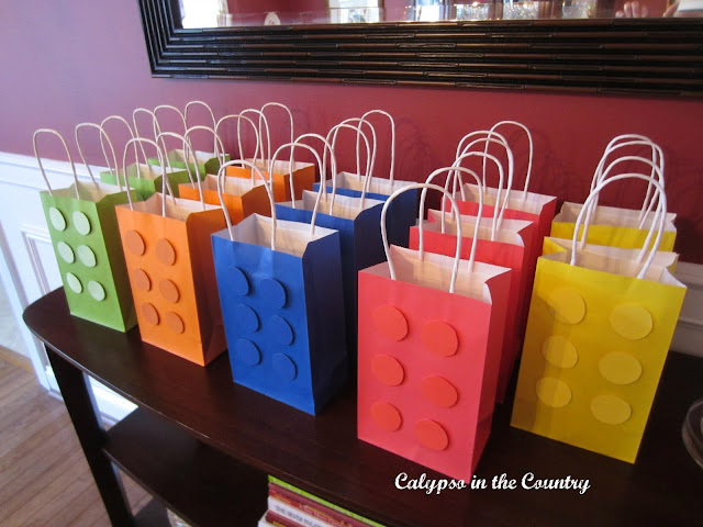 Lego Goodie Bags