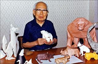Akira Yoshizawa Origami art of paper photos, Akira Yoshizawa Origami wallpapers