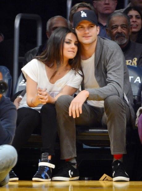 Ashton Kutcher Y Mila Kunis Esperan Una Niña