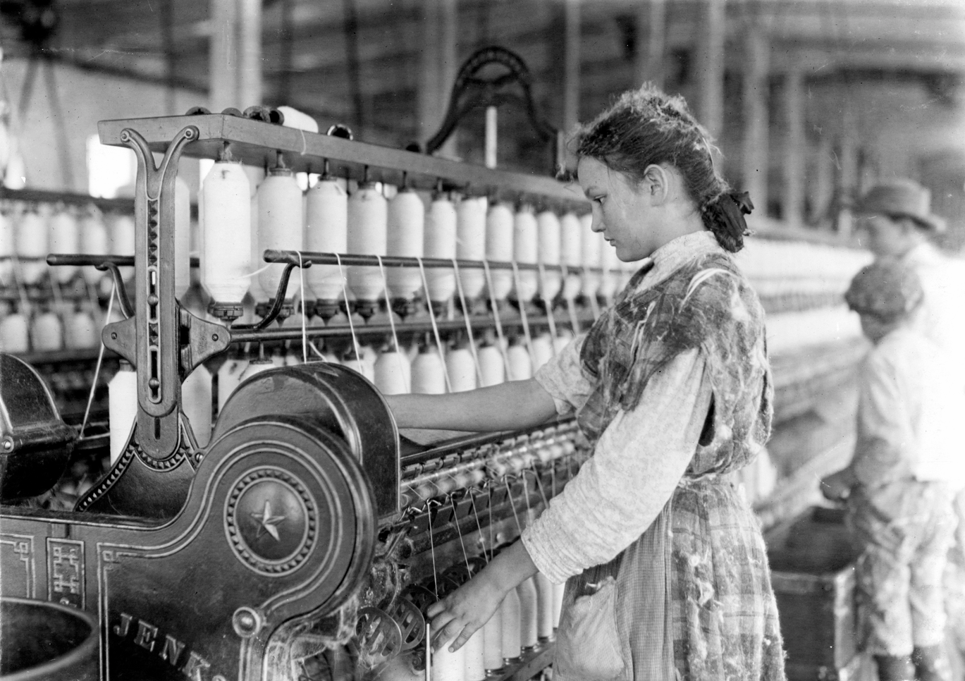 Spinner in Vivian Cotton Mills, Cherryville, N