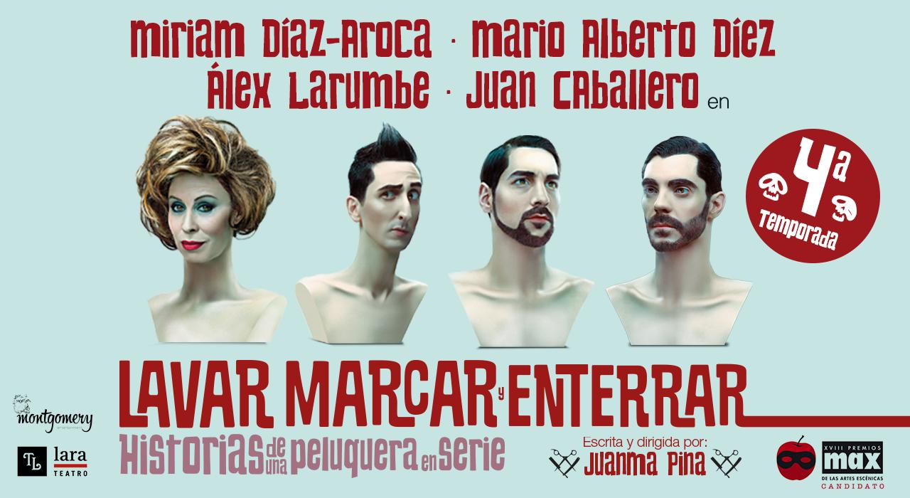 """""""Lavar, marcar y enterrar"""": la peluquería Corta Cabeza vuelve al Teatro Lara"""
