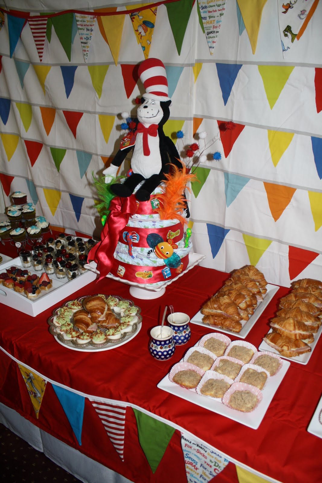 celebrate dr seuss baby shower
