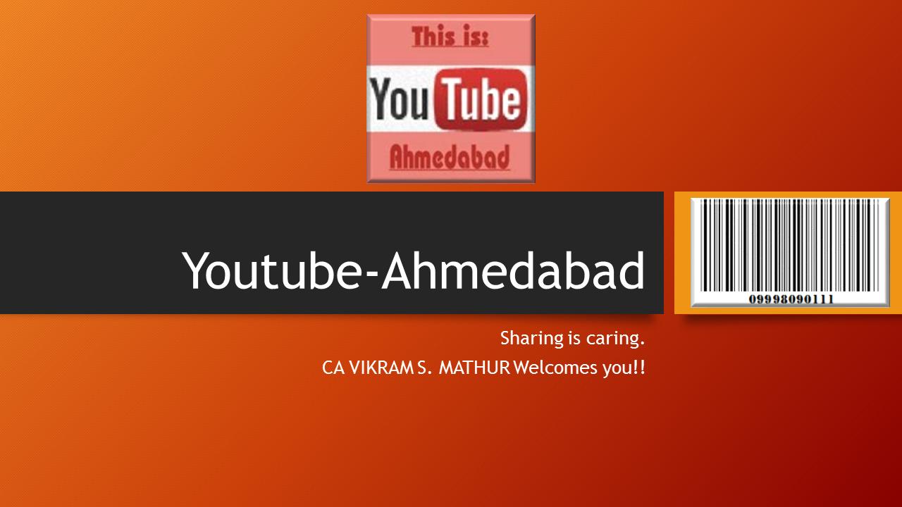 Youtube-Ahmedabad