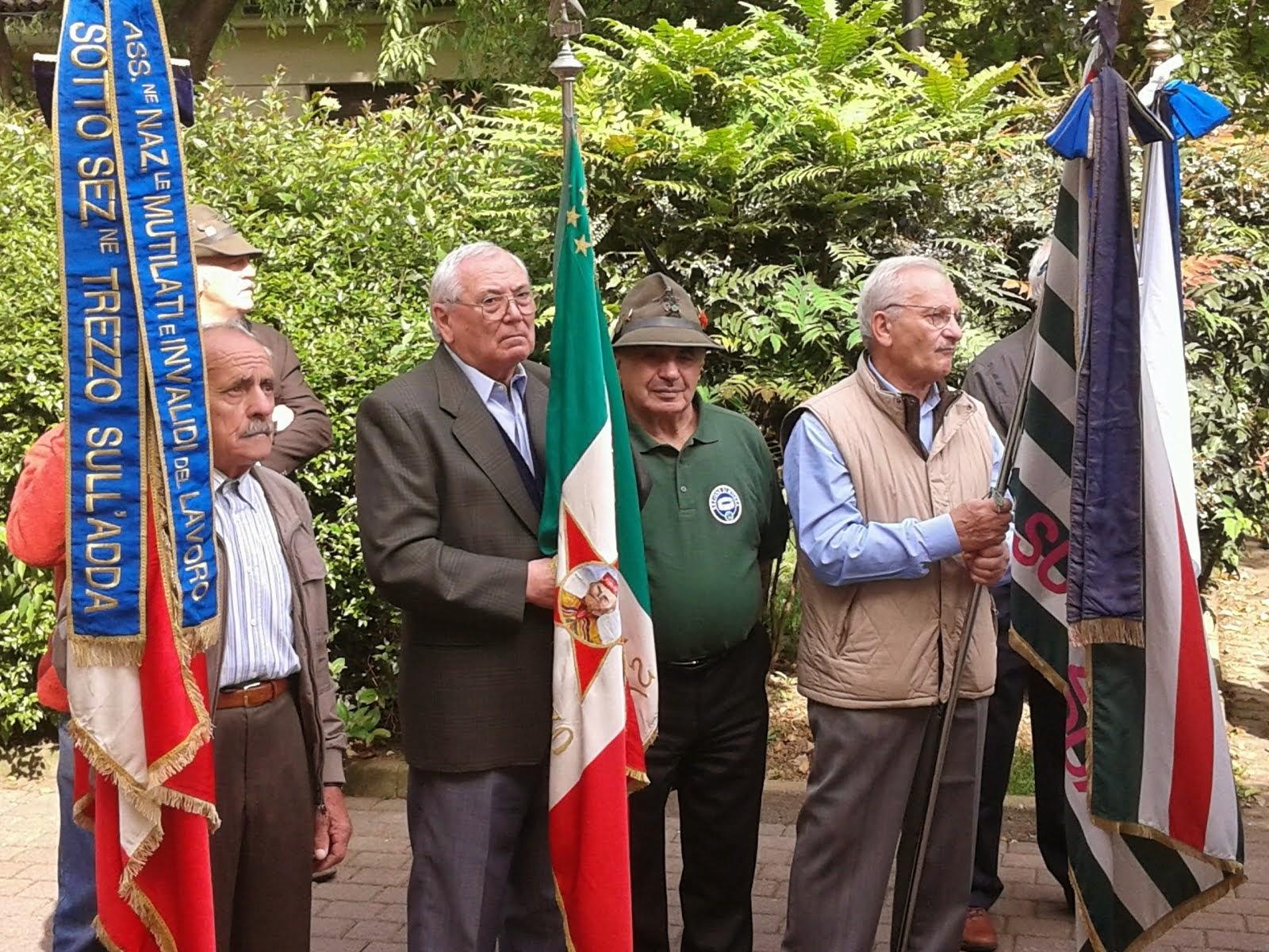 25 aprile 2014 - Trezzo sull'Adda 69° Anniversario della Liberazione