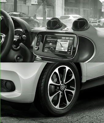 La nuova smart fortwo Black Passion: optional dieci e lode