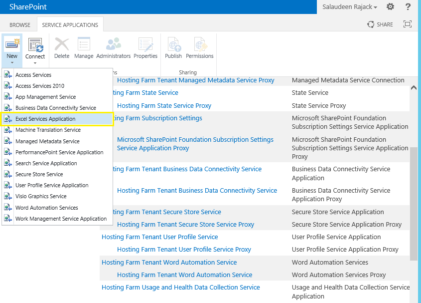 install and configure excel services sharepoint 2013