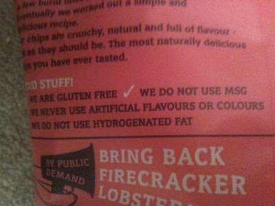 burts gluten free crisps