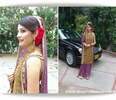 Prettiest Actress Neelam Munir On Her Friends Wedding Ceremony