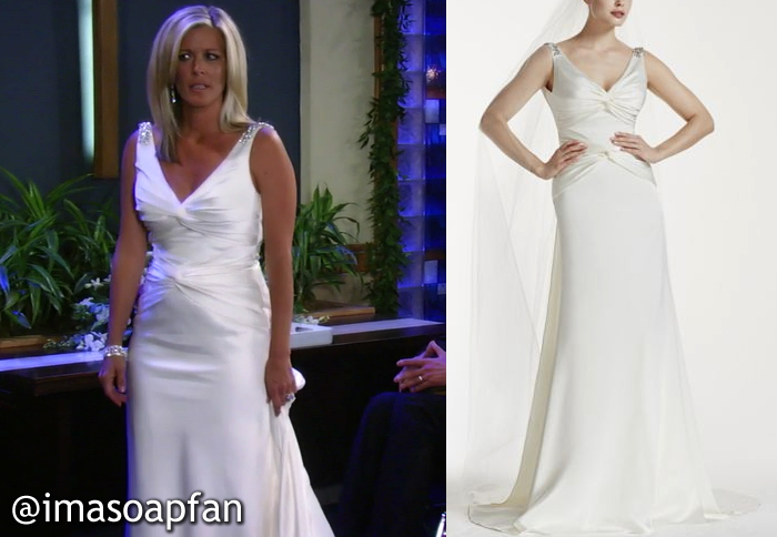 Carly Corinthos\'s Wedding Dress - General Hospital, Season 53 ...