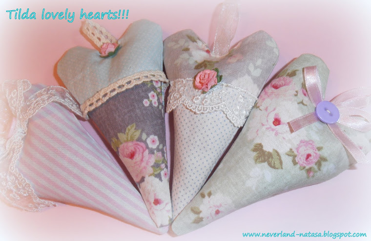 Tilda Lovely Hearts