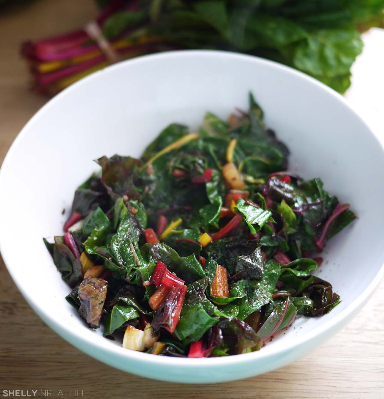 Sauteed Rainbow Chard With Raw Beets And Goat Cheese Recipes ...