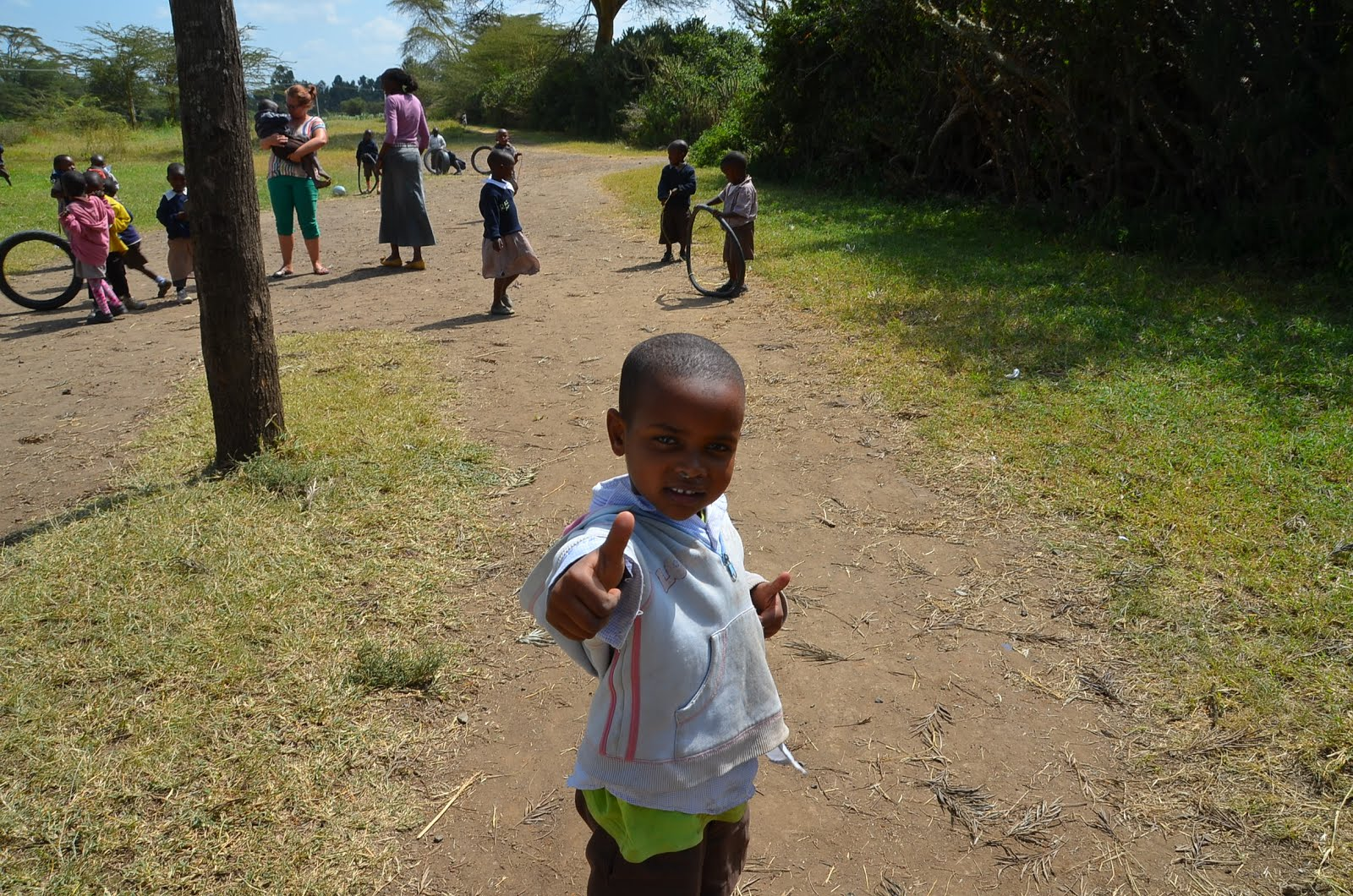 Kiwi Supports Volunteer Naivasha