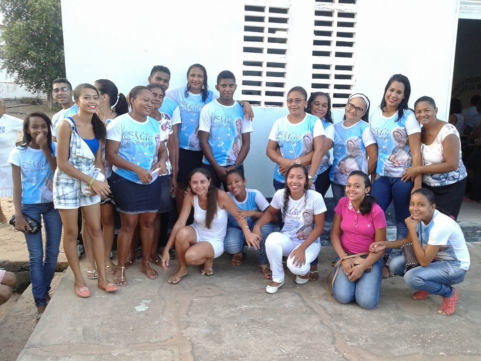 MEMBROS DA COMUNIDADE MÃE DO SALVADOR