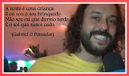 Gabriel O Pensador-Mensagens e Frases